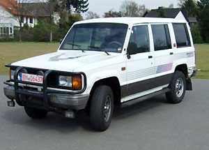 Isuzu Trooper 1984 - 1991 гг